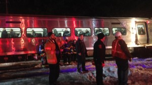 Metro North Commuter Train Collides With Two Vehicles Killing 6